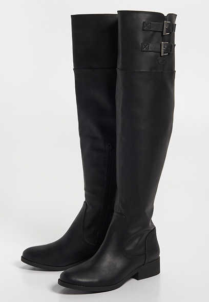 Glenda over the knee boot