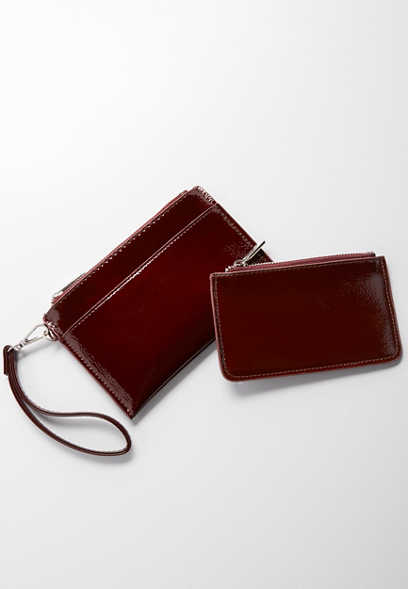 two piece wristlet set