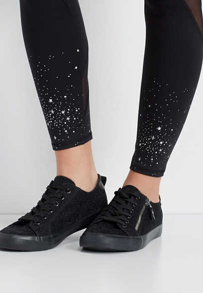 metallic star 7/8 active legging
