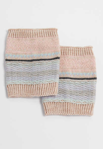multi colored boot cuffs