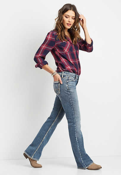 Silver Jeans Co.® Suki slim boot jean