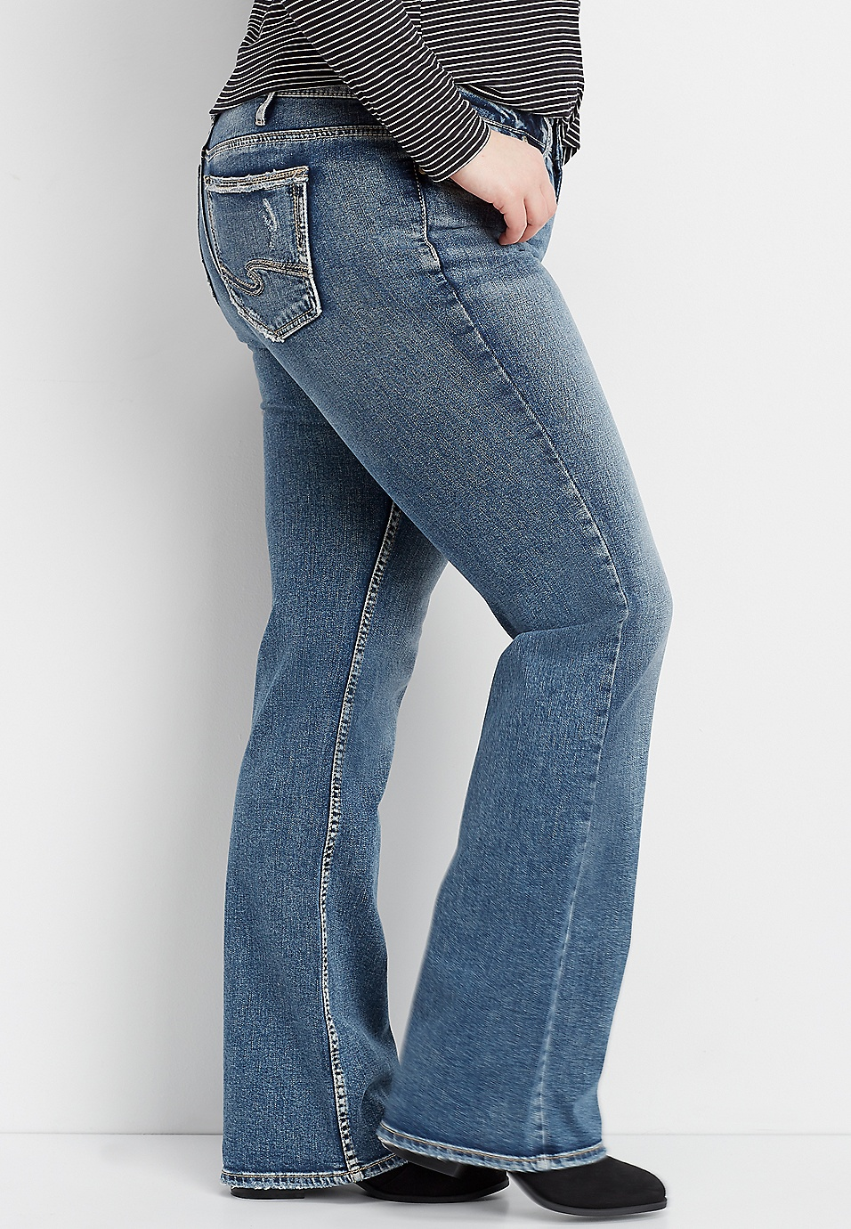 official price great look wide selection plus size Silver Jeans Co.® Suki bootcut jean | maurices