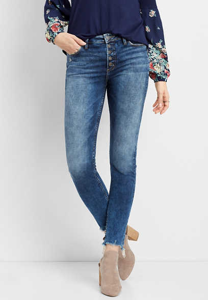 Silver Jeans Co.® Mazy high rise button fly skinny jean