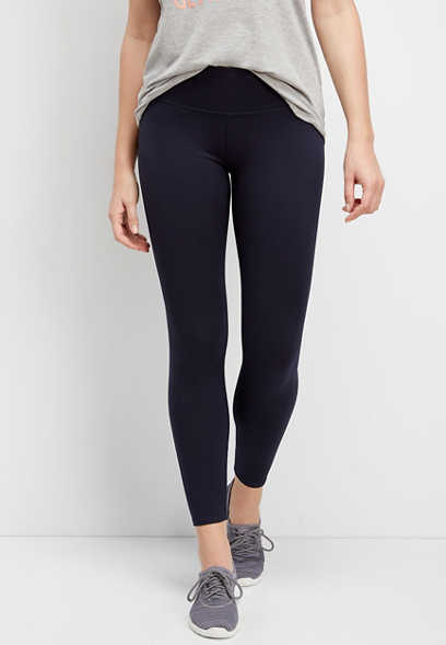 navy high rise 7/8 active legging