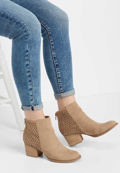 Madden Girl Fayth perforated bootie