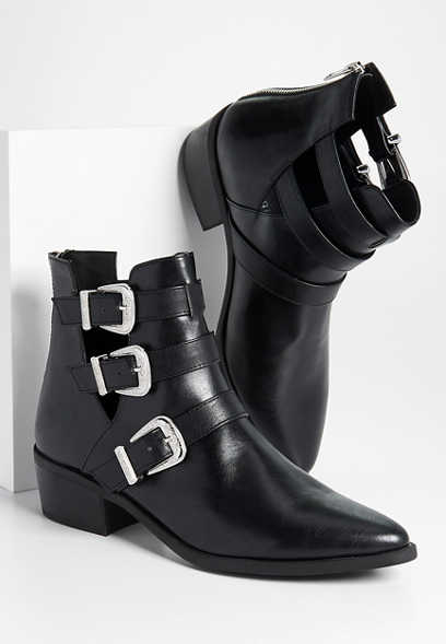Madden Girl Cecily buckle ankle bootie