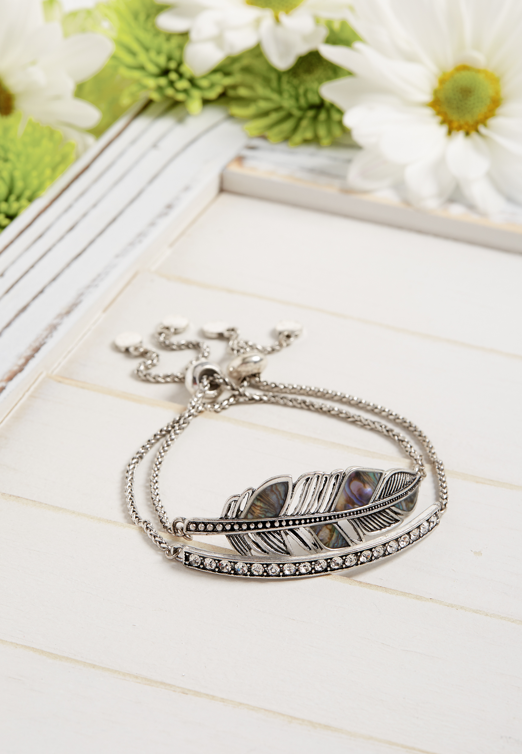 Silver Jeans Co.® Two Piece Bracelet Set by Maurices