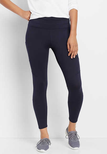 navy 7/8 active pocket legging
