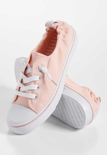 Macy scrunch back slip on sneaker