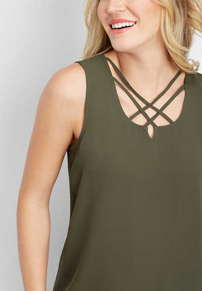 solid lattice neck popover tank