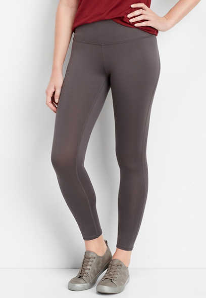 238843bff08a gray super high rise 7 8 active legging