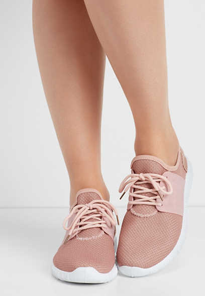 Lexi lace up athleisure sneaker