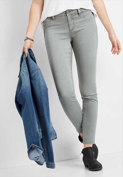 DenimFlex™ sage color jegging