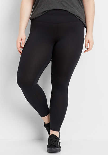 plus size super high rise 7/8 active legging
