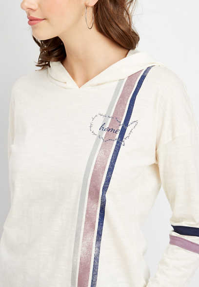 long sleeve home graphic pullover