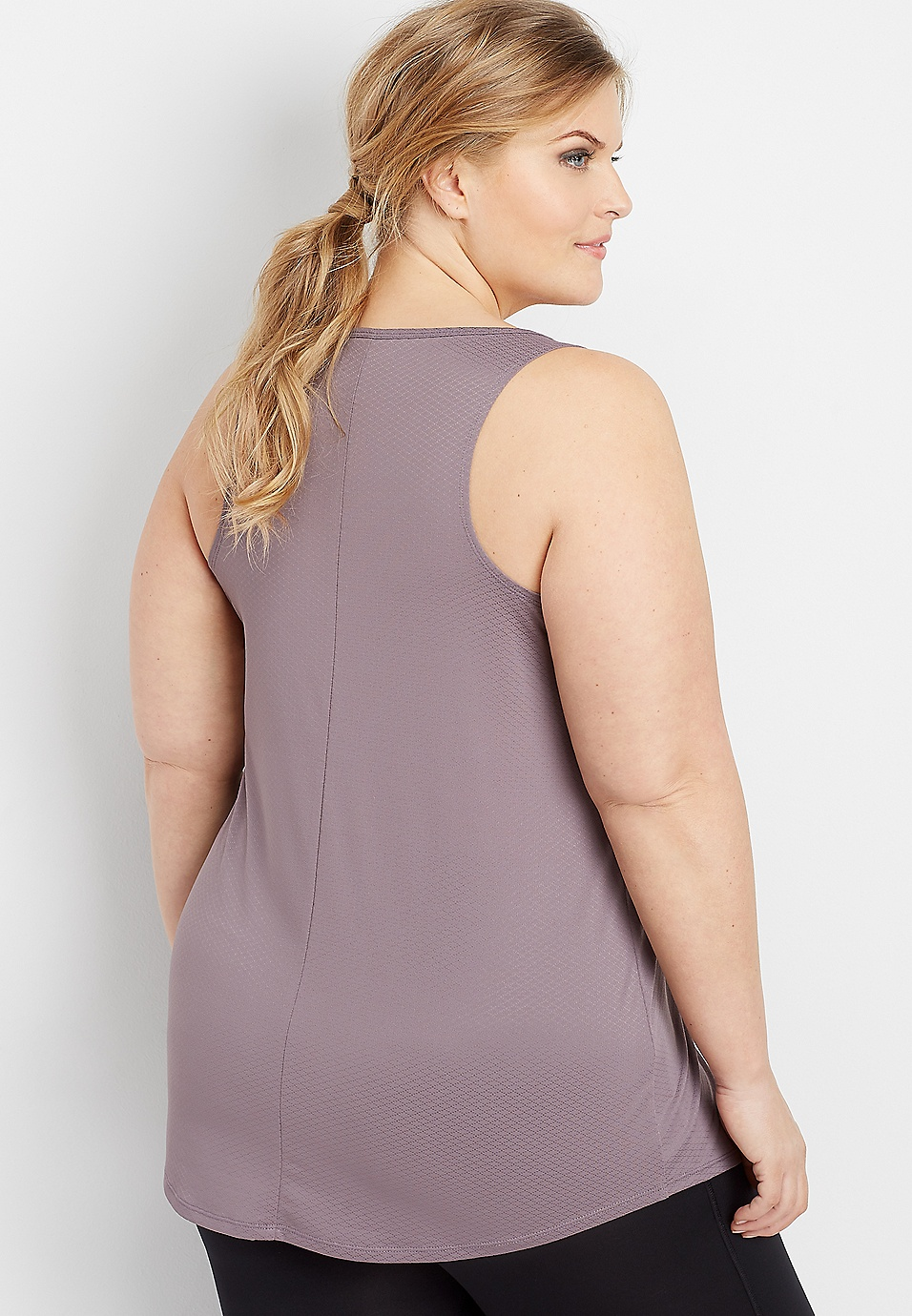 275b58f817c96 plus size purple active tank