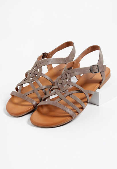 03bc964c9 image of Amanda cross strap slingback sandal with sku 106440