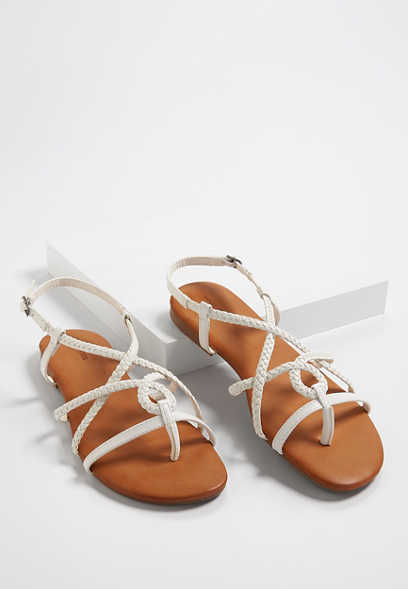 Adalyn braided slingback sandals