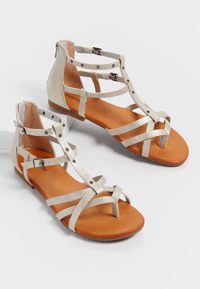 Ashlee studded gladiator sandals