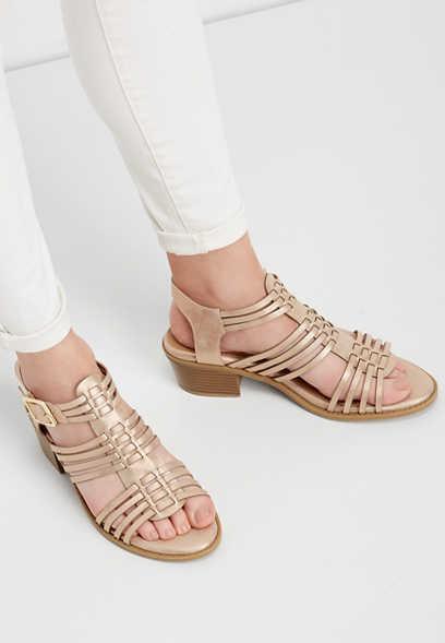 26b7073c8fe9 Emily shimmer block heel