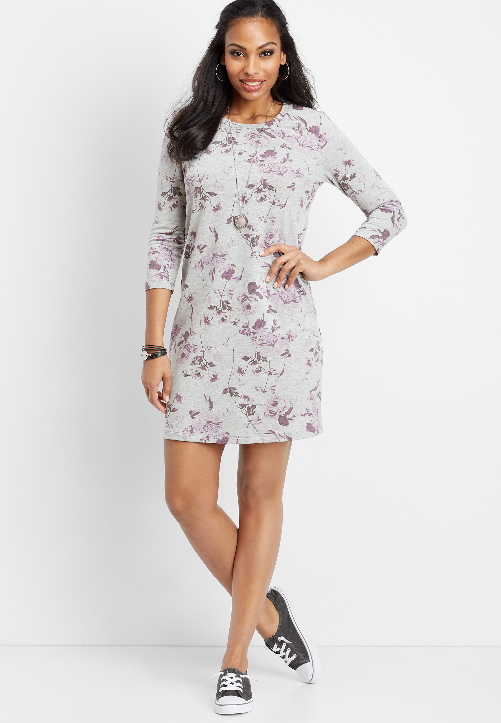 Small Grey Dress