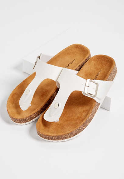 Annika thong molded footbed sandal