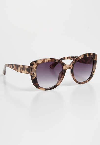 black torte cat eye sunglasses