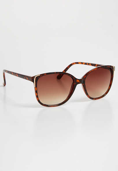 torte metal corner cat eye sunglasses