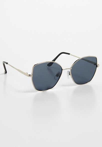 7fa91508a0 square corner metal frame sunglasses