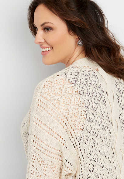 422ddb8580 Plus Size Sweaters   Cardigans