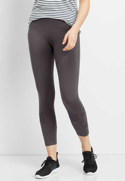 lace mesh piece 7/8 active legging