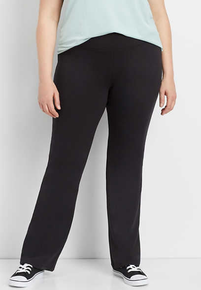 plus size active bootcut pant