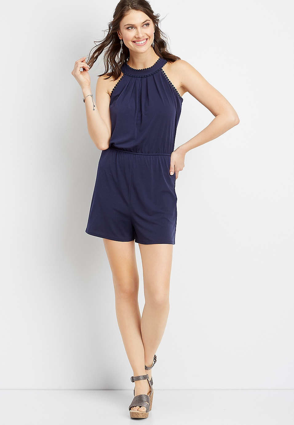d7cdae411378 embroidered high neck romper