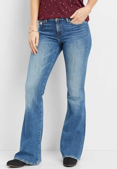 Flying Monkey™ medium wash flare jean