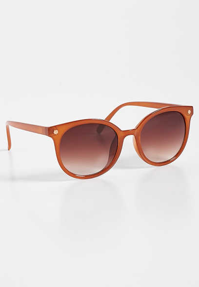 298b7ced7c colored plastic round sunglasses