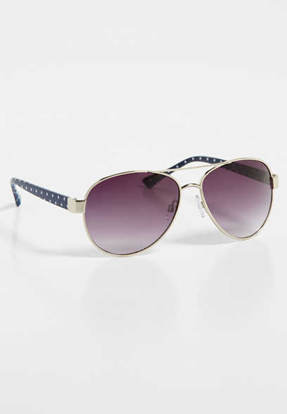 star side aviator sunglasses