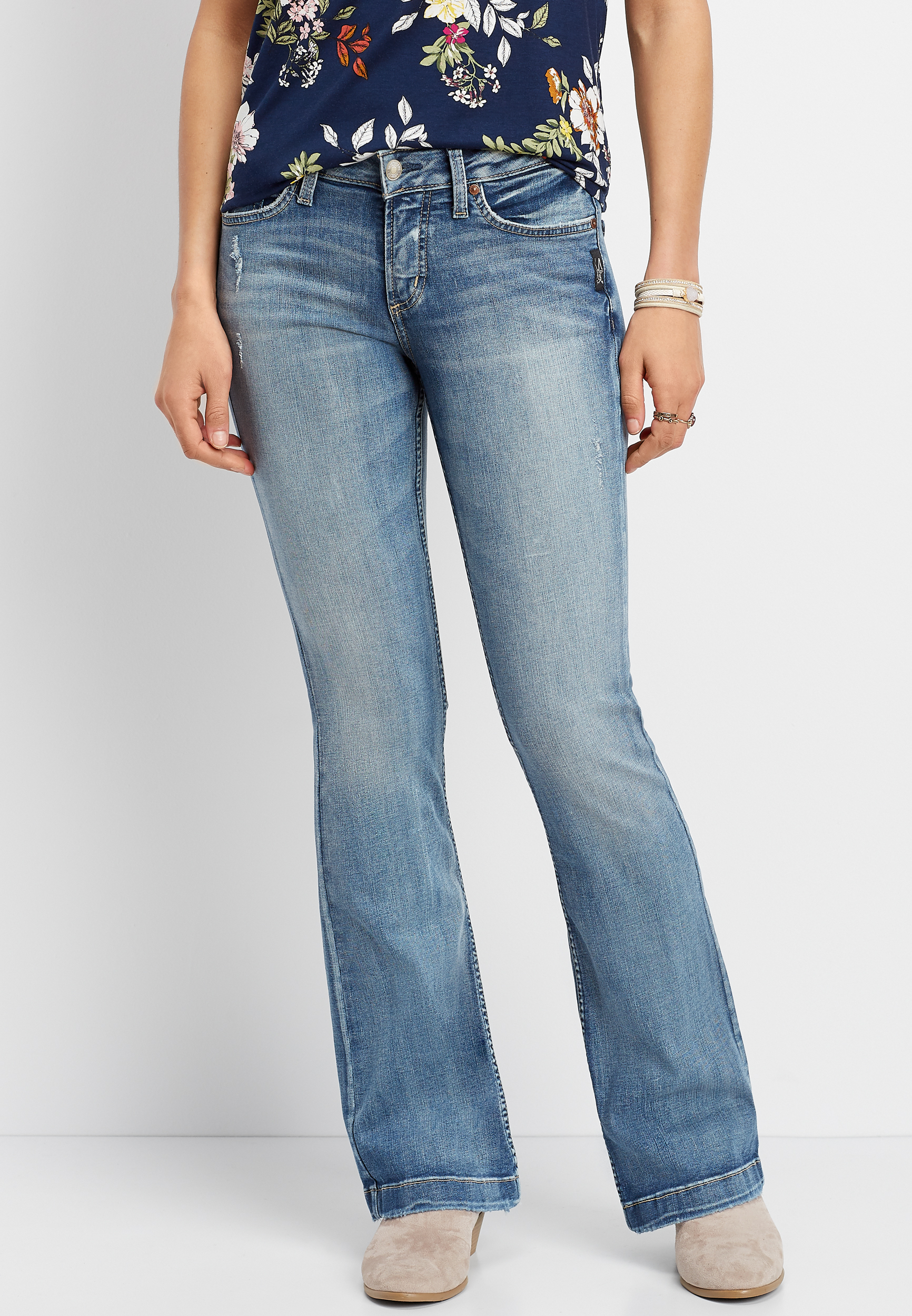 Silver Jeans Co.® Suki Medium Wash Bootcut Jean by Maurices