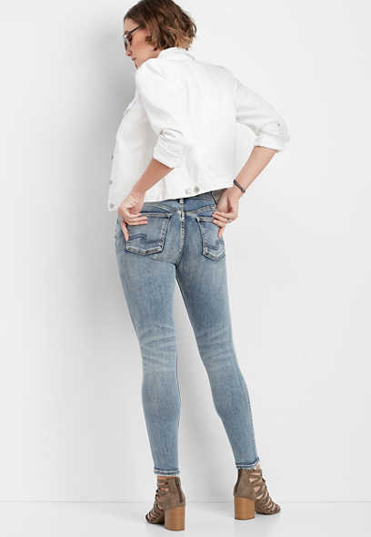 Silver Jeans Co.® Avery medium wash skinny jean