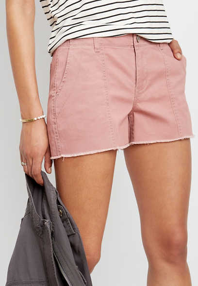 mauve 3.5in chino short