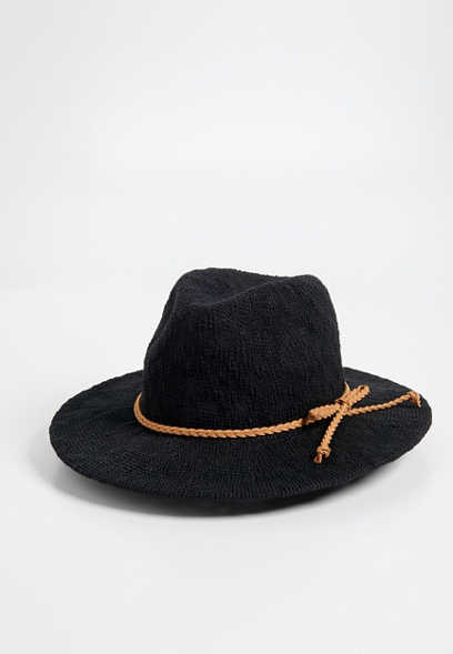 textured panama hat