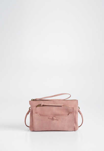 small knotted crossbody bag