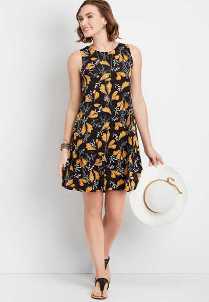 f385379216d 24 7 floral print tank dress. quickview add to favorites