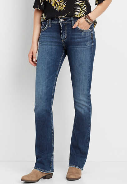 Silver Jeans Co.® Avery high rise slim boot jean