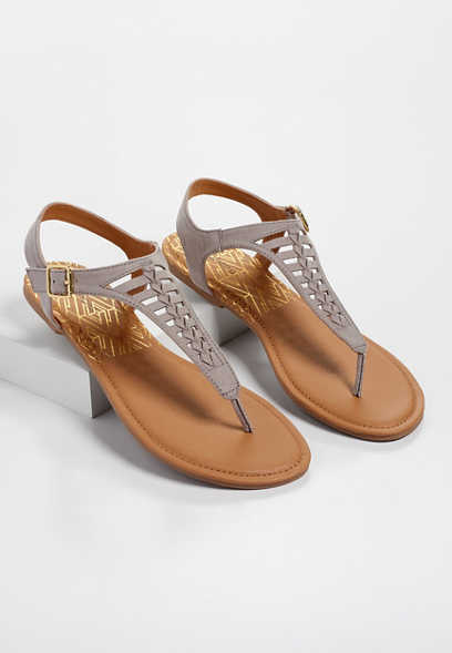 Aila woven braided sandals