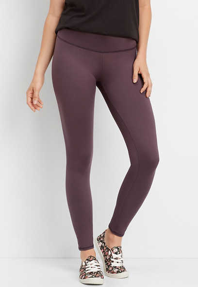 mid rise full length active legging