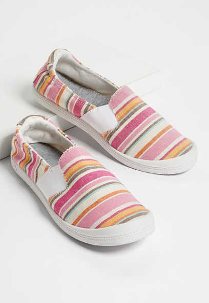 Laura multi stripe twin gore sneaker