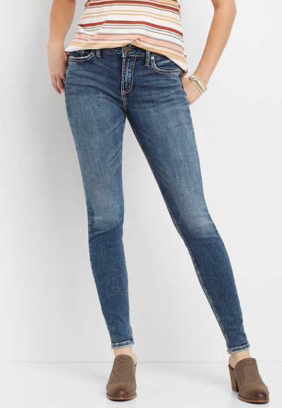 Silver Jeans Co.® Avery high rise skinny jean