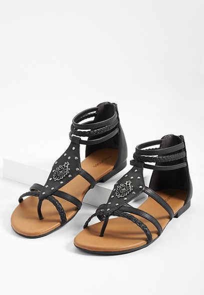 3f1e3b648 image of Adrianna embellished gladiator sandal with sku 108745