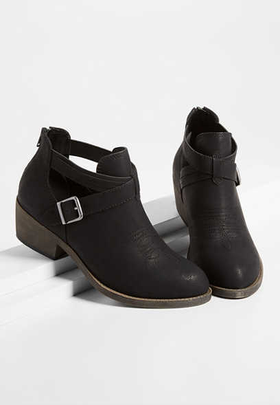 Rory open side ankle bootie