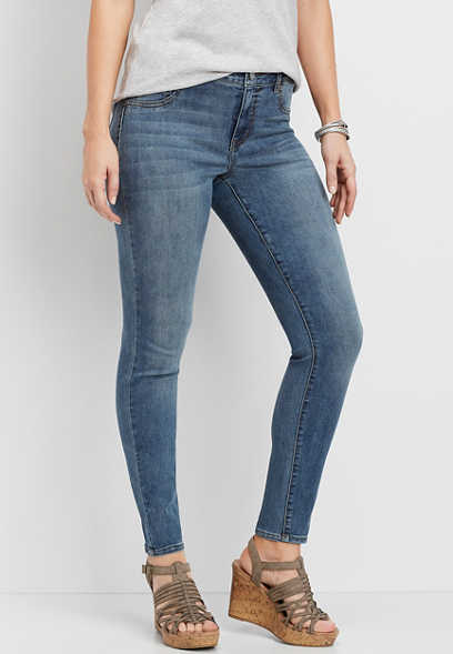 DenimFlex™ medium wash high rise jegging